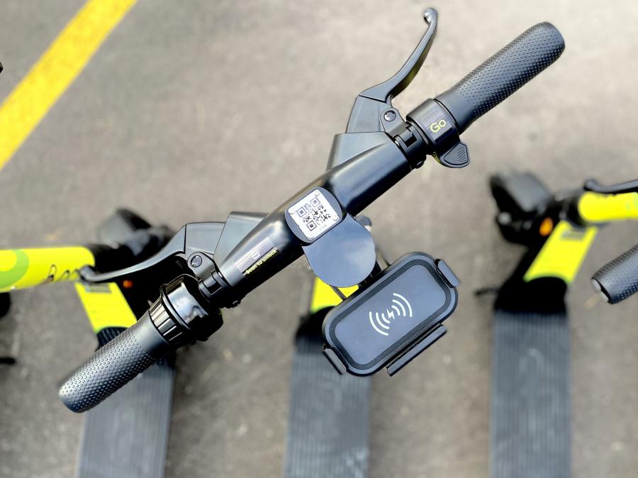 Брандиране на градски скутери