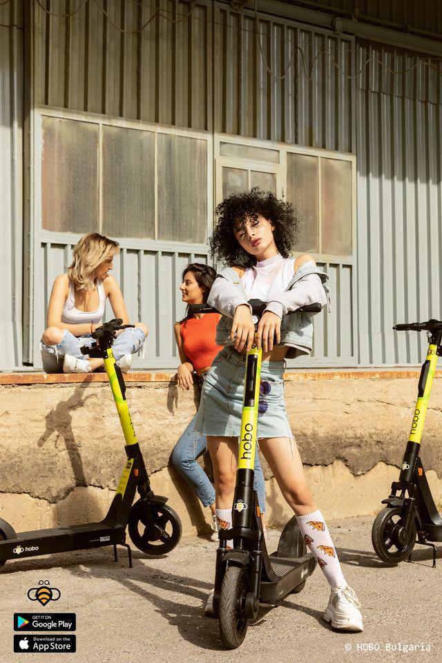 Брандиране на електрически скутери с PVC фолиа