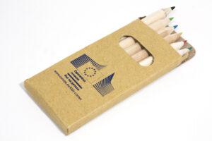 Тампонен печат върху комплект моливи